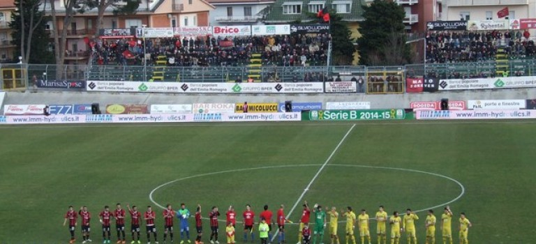 Virtus Lanciano-Catania: ennesima debacle in trasferta