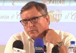 Lo Monaco conferenza stampa 20 agosto