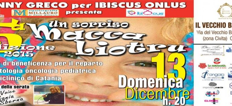 """""""UN SORRISO MACCA LIOTRU"""""""