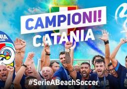 Catania beach soccer