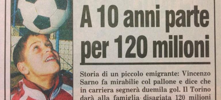 VINCENZINO SARNO, L'EX BIMBO PRODIGIO DA 120 MILIONI DI LIRE